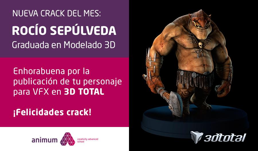 modelado de personajes 3d rocio sepulveda
