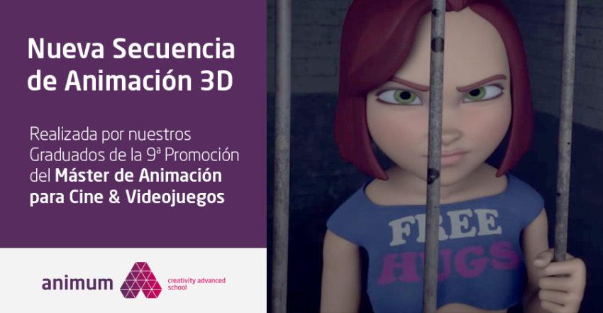 Secuencia de Animación 3d