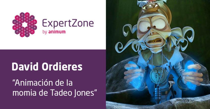 la momia de Tadeo Jones