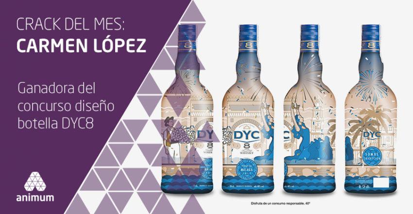 diseño botella dyc 8