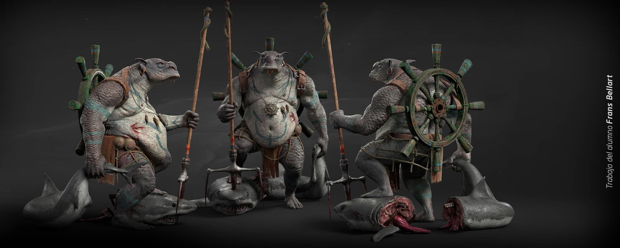 Máster Modelado 3D de Personajes para Cine y Videojuegos con Maya y ZBrush