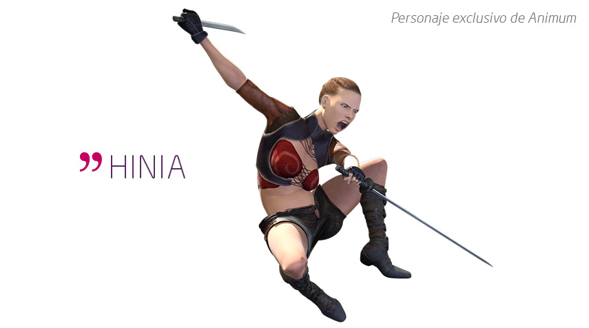 animacion para videojuegos hinia