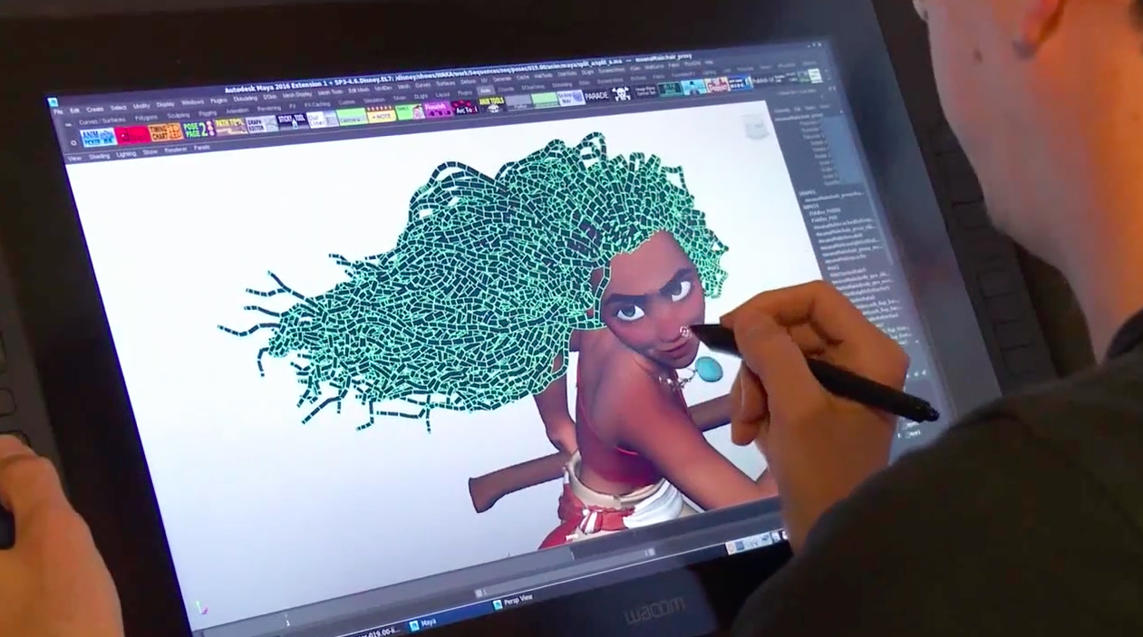 making of moana