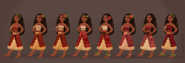 making of moana 3