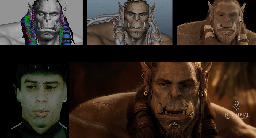 efectos especiales de Warcraft