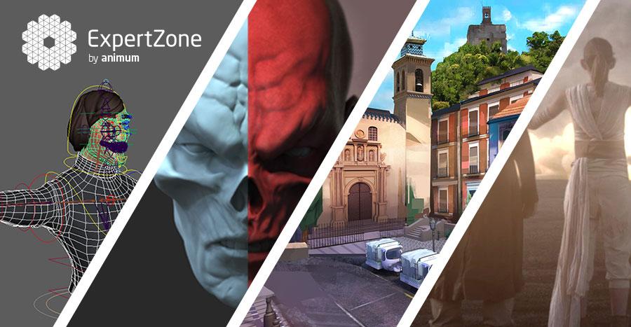 producción 3D para cine y videojuegos