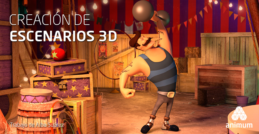 creación de escenarios 3D