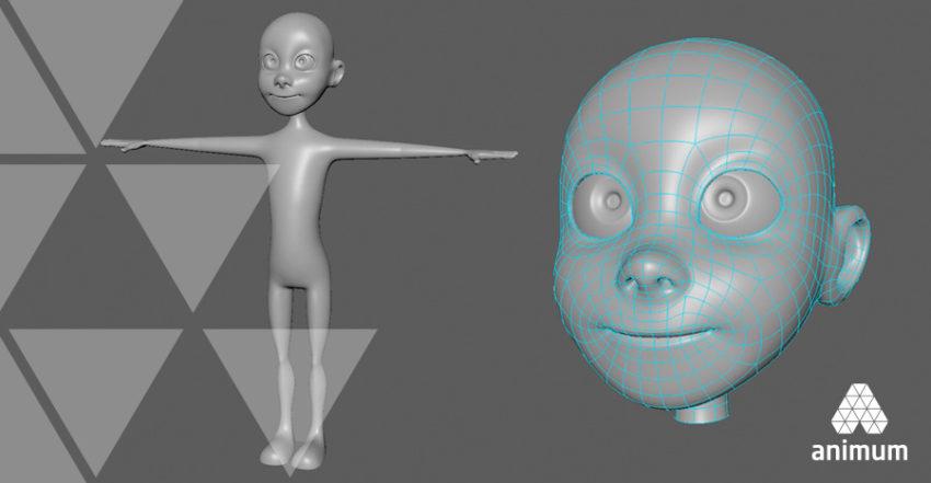 esculpido de un personaje