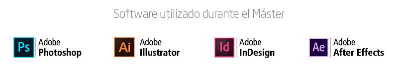 software Máster de Diseño Gráfico