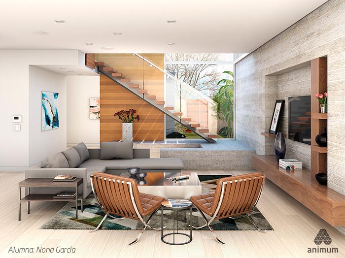 Render de Arquitectura 3D