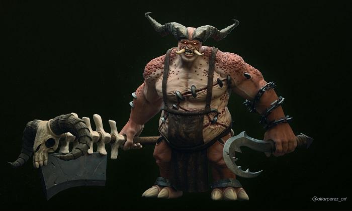 modelo 3D de The Butcher