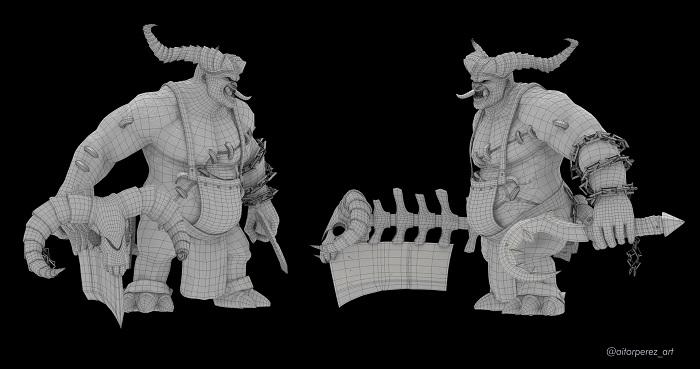 modelado malla 3D