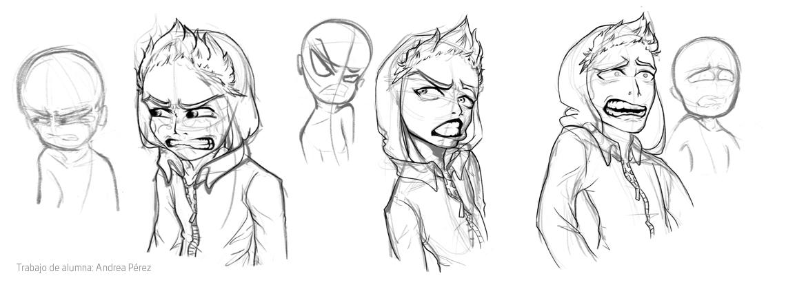 Concept Art de Personajes