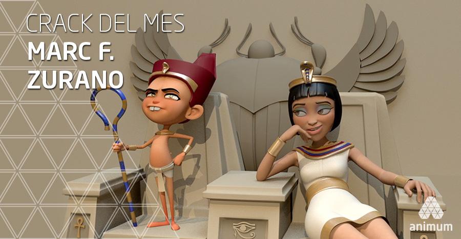 trabajo de animación 3d