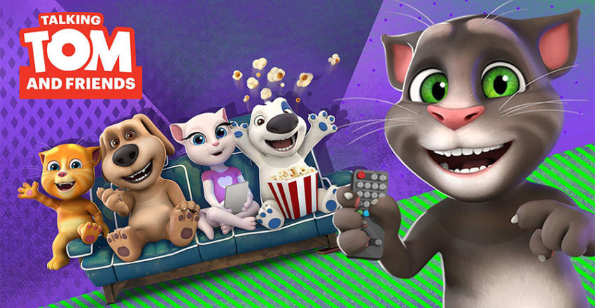 Serie Talking Tom and Friends
