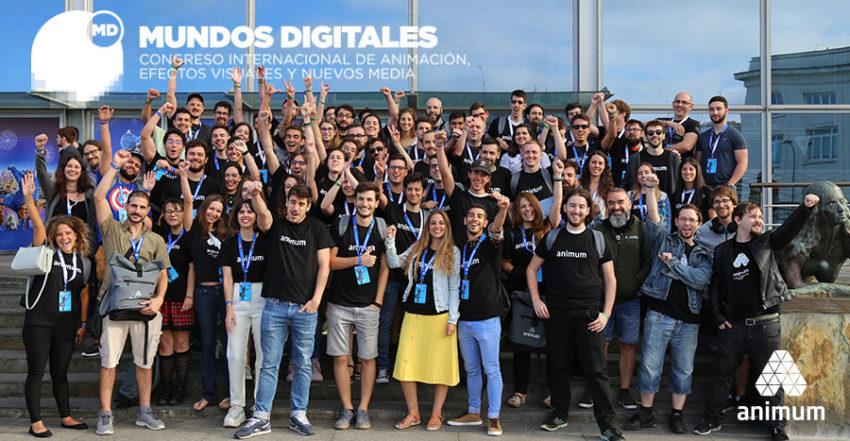alumnos en Mundos Digitales 2019