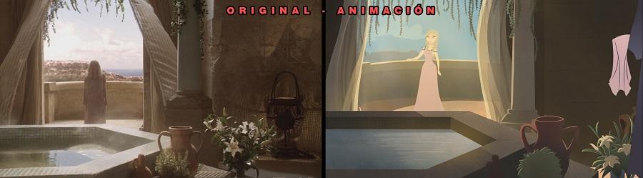 Daenerys en animación 2D