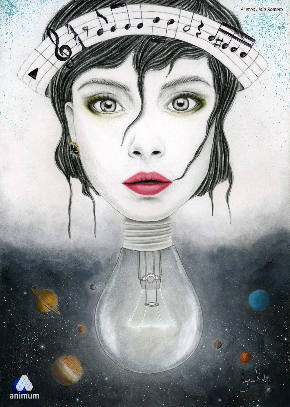 Trabajos de Dibujo Digital Lidia Romero 2