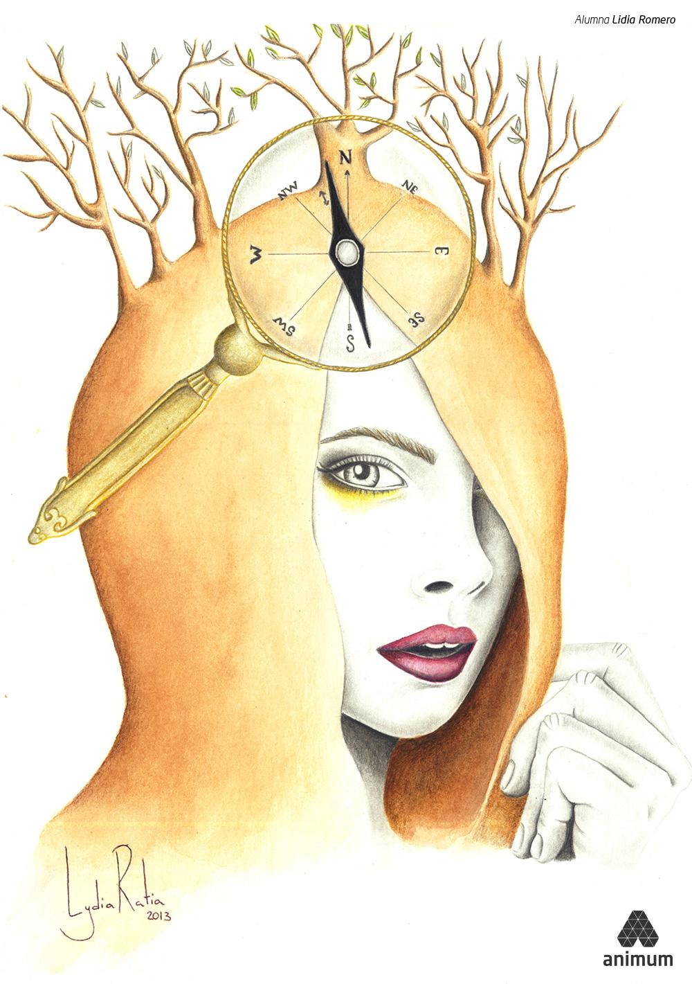 Trabajos de Dibujo Digital Lidia Romero