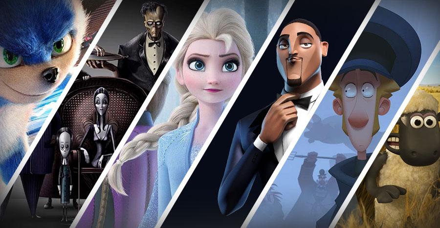 Próximos estrenos en cine de animación 3D