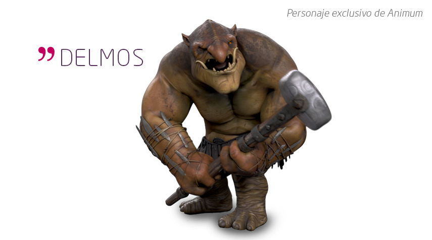 Delmos Personaje eclusivo de Animum