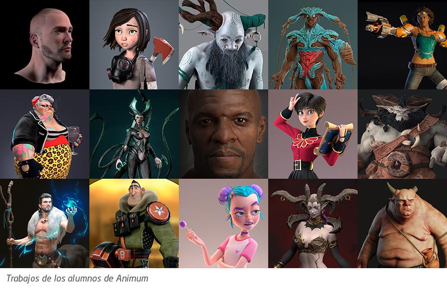 industria de la animación 3D