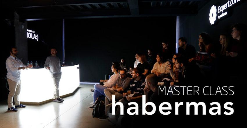 Masterclass con Habermas estudio de Diseño