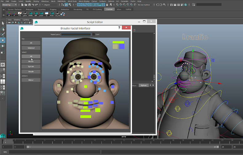 Modelado y Rigging de Personajes 3D