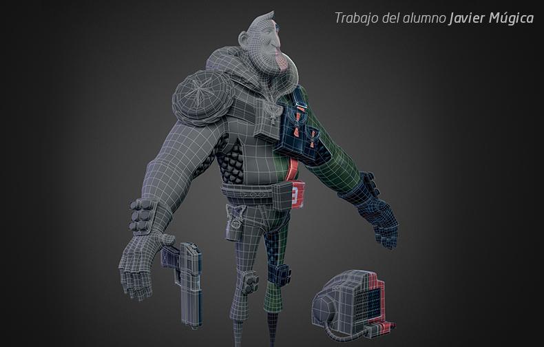 Máster Modelado 3D e Iluminación