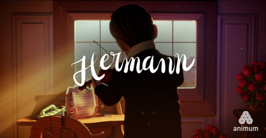 Hermann corto de animación