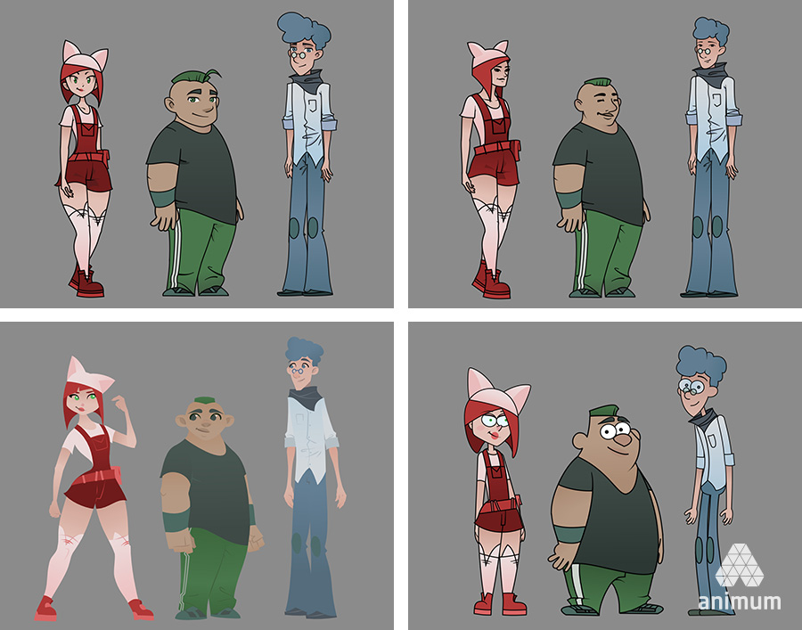 estudiar animación 2D personajes