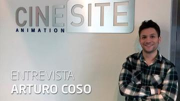 Arturo Coso Cinesite Montreal